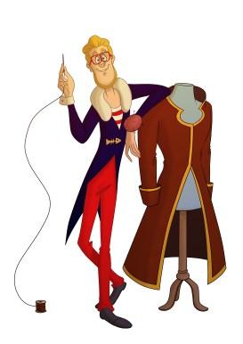 Guy, styliste parisien personnage de Tyo Story