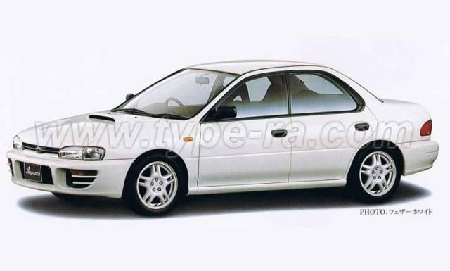 MY95 Impreza Type RA