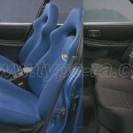 Impreza WRX Type RA Limited seats