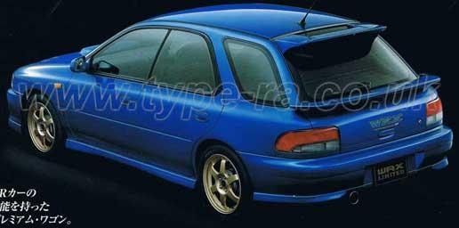 V6 STi Limited Wagon