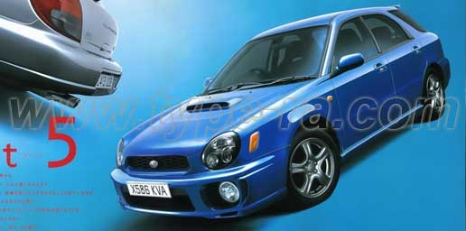 2002 Impreza WRX Wagon