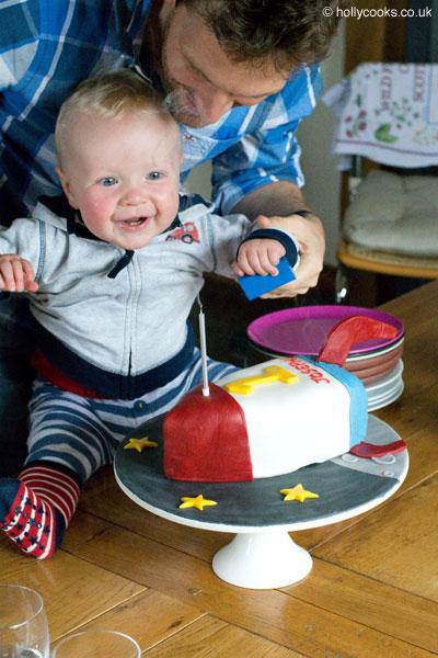 Holly-cooks-birthday-fruit-cake-birthday-boy