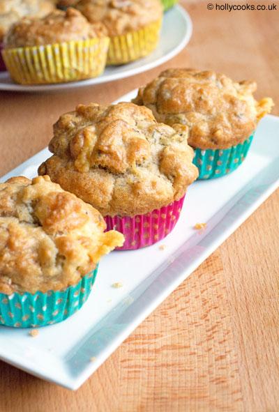 Type 1 Kitchenlemon olive and walnut muffins
