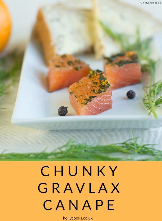 chunky gravlax