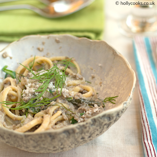 Holly-Cooks-three-mushroom-pasta
