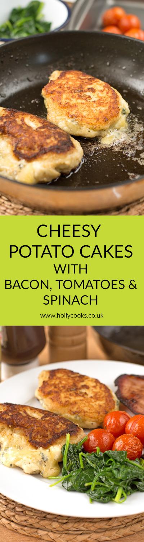 Type 1 Kitchencheesy potato cakes Pinterest