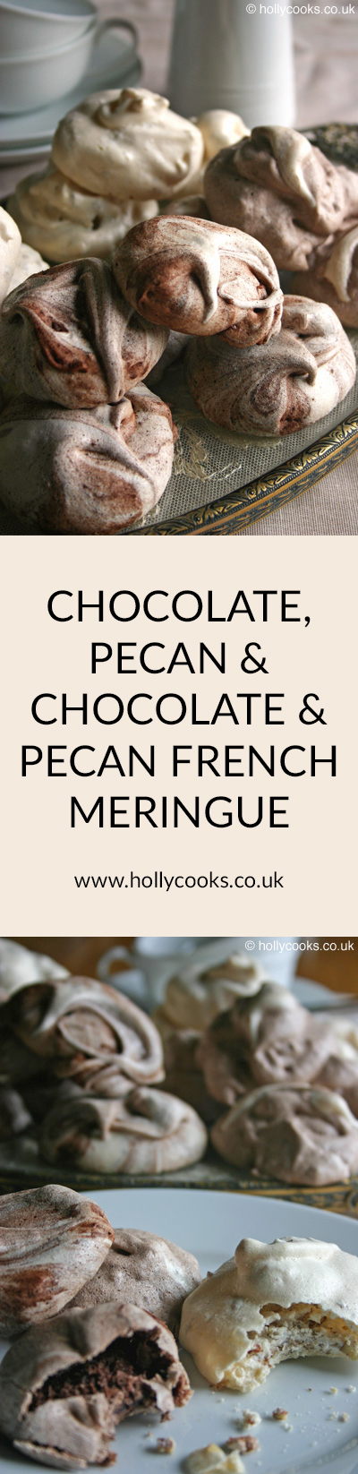 Chocolate-pecan-and-chocolate-and-pecan-french-meringe-pinterest