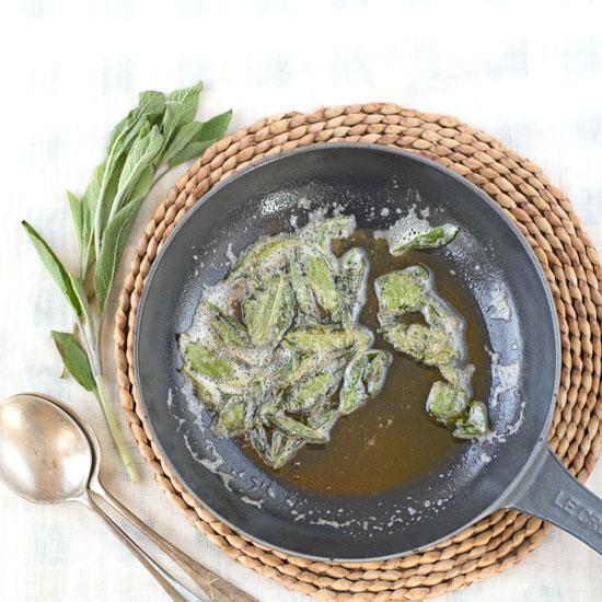 celeriac, sage and walnut soup