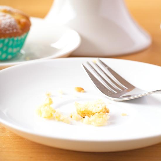 Lemon & coconut drizzle and prune & apple cupcakes