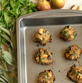 Fig, brazil nut and sage stuffing