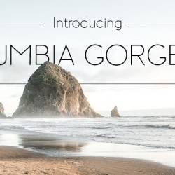Introducing Columbia Gorgeous Light – The Newest Font in the Columbia Gorgeous font family