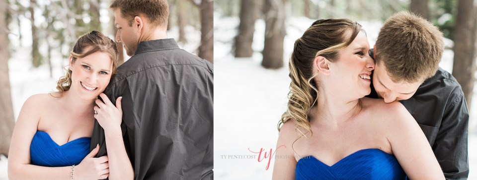 truckee engagement photos