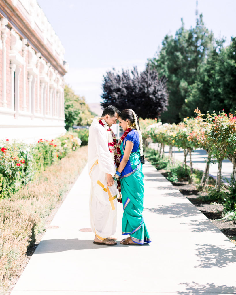 A Hindu couple include culture in your wedding celebrations