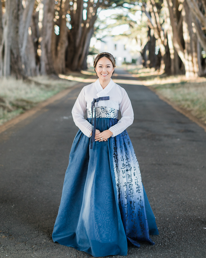 a woman in traditional Chinese wardrobe to include culture in your wedding