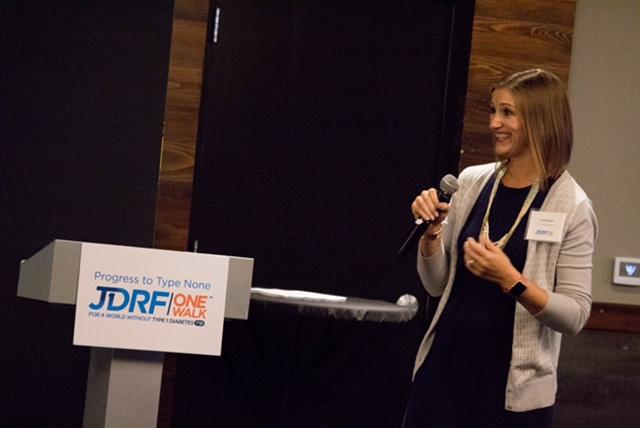 My Unfiltered T1D Diagnosis Story (…and first speech for JDRF)