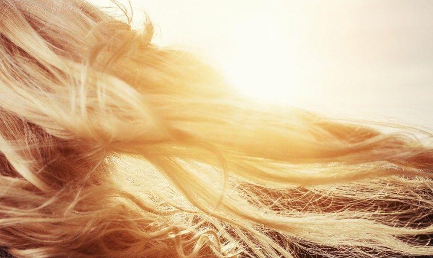 أنواع ألوان الشعر الأشقر