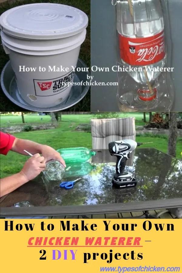 DIY Chicken Waterer