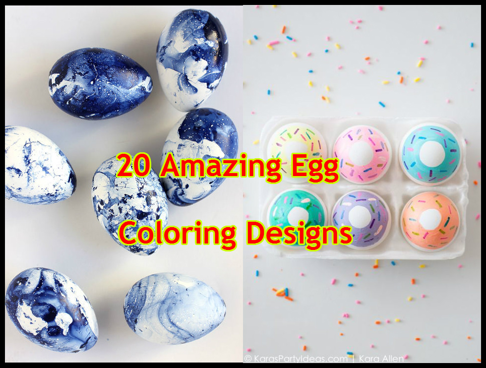 amazing egg coloring designs featured