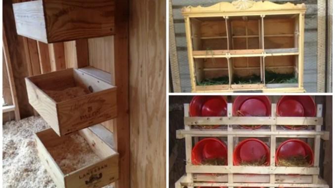 Diy Nesting Boxes