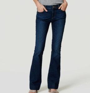 Flare Jeans in Dark Enzyme Wash