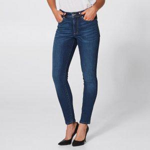 Medium/Mid Wash Skinny Jeans
