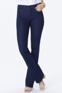 dark rinse boot cut jeans