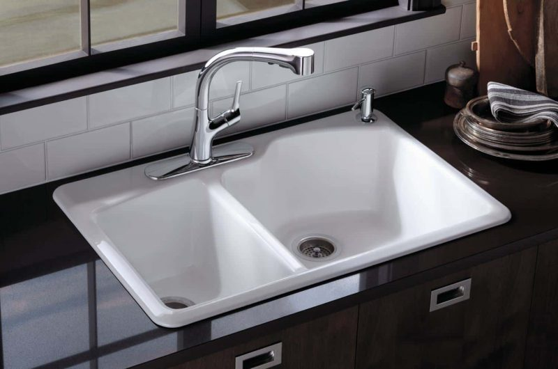 types of kitchen sinks read this