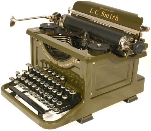 LC Smith 8 Secretarial Typewriter