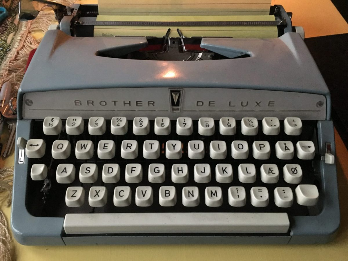 Day 19: Featured Typewriter Poetry (National Poetry Month)