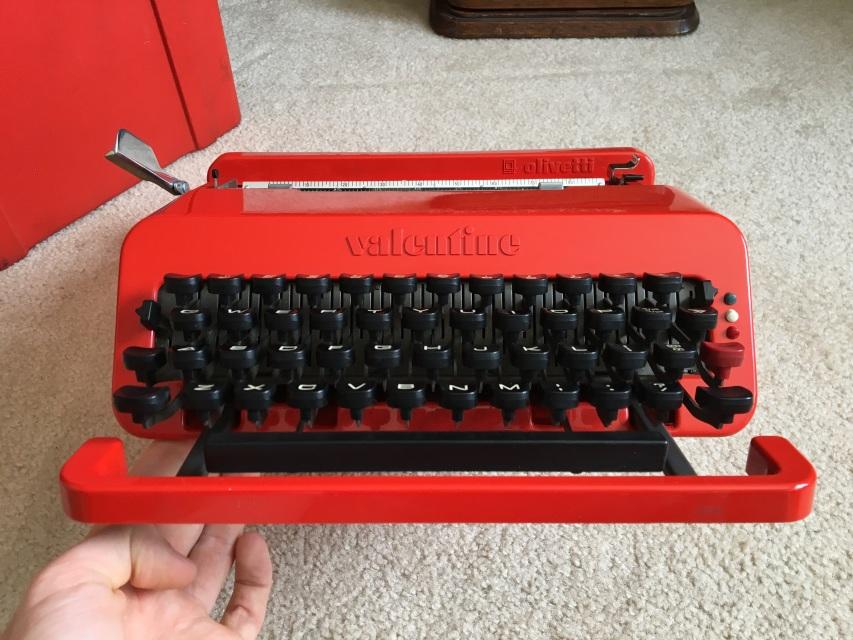 1969 Olivetti Valentine