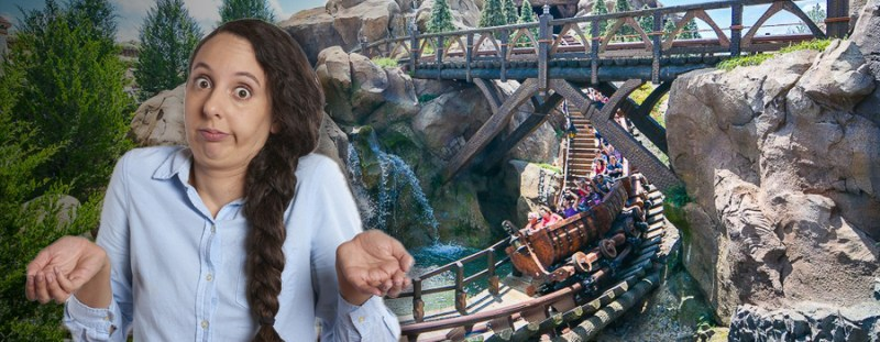 Mother Who Hates Roller Coasters Mysteriously Loves Seven Dwarfs Mine Train