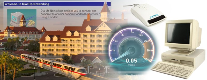 Dial-Up Internet Returning to Grand Floridian