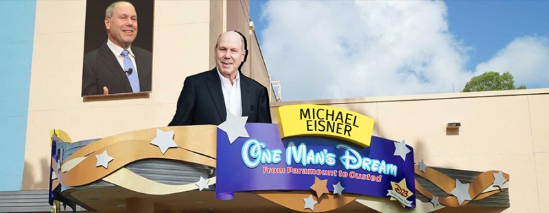 Michael Eisner Story Replacing One Man's Dream