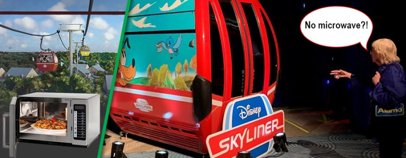 Disney's Skyliner Will NOT Have A Microwave On Board