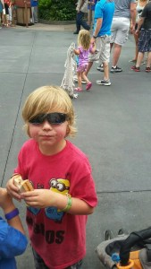 Magic Kingdom boy