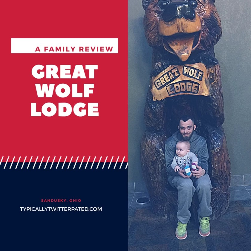 Great Wolf Lodge Review Sandusky Ohio with a baby
