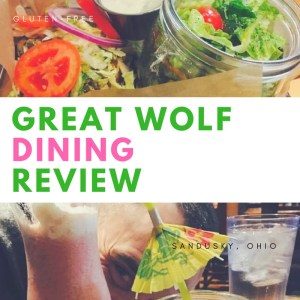 great wolf lodge gluten-free dining review