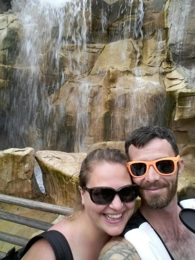 Canada walt disney world waterfall