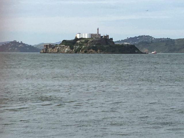 Alcatraz island san francisco walking tour with a baby