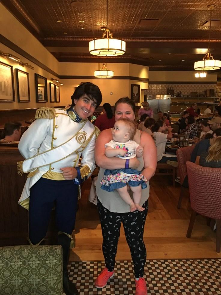 Prince Eric, baby, Trattoria al Forno: Walt Disney World's Bon Voyage Breakfast
