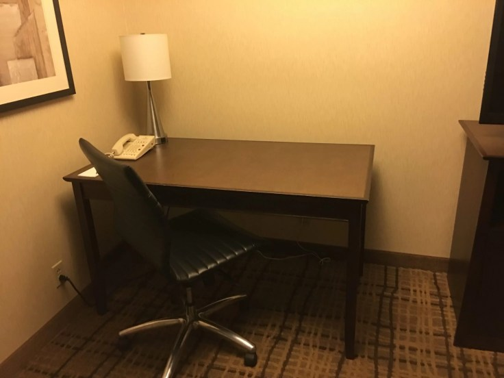 Embassy Suites Beachwood Ohio desk