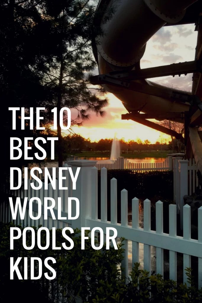 Best Pools at Disney World for Kids with Autism