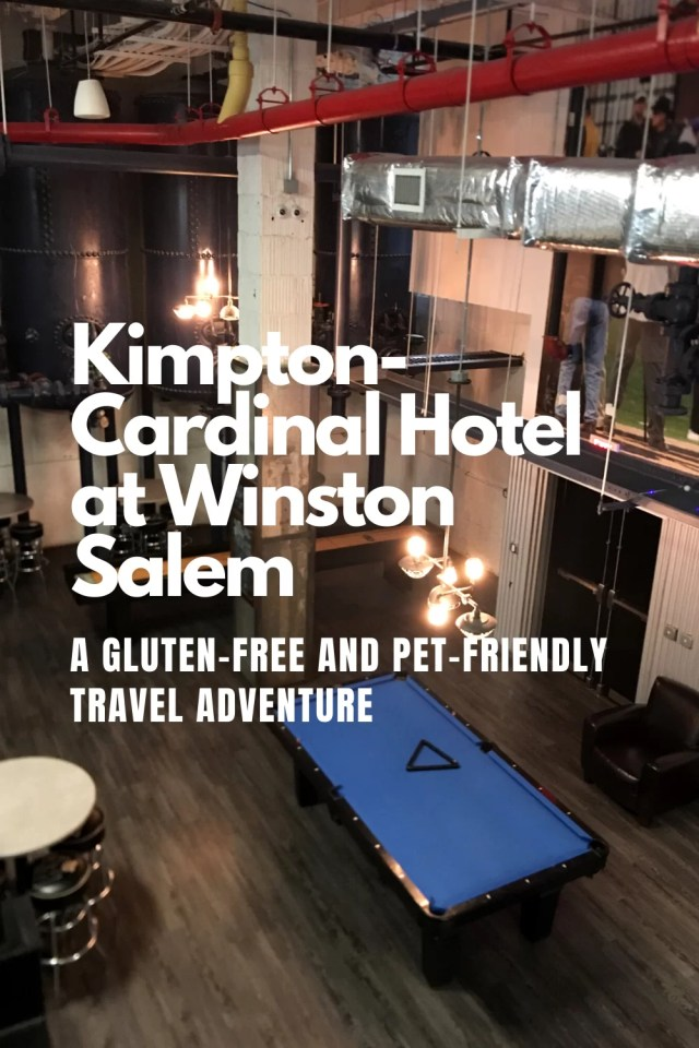 aerial view of a blue billiards table at Kimpton-Cardinal Hotel at Wintston-Salem