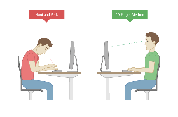 How to improve your typing: The Posture difference
