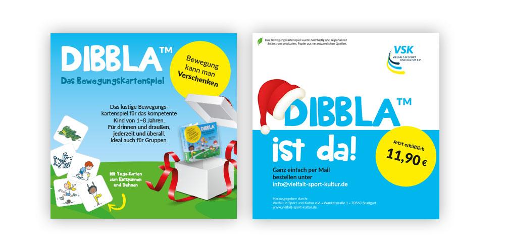 Werbeaktion Weihnachten für DIBBLA