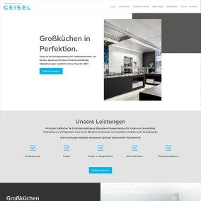 Website für Geisel GmbH