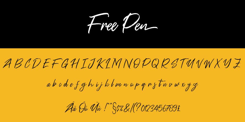 Free Pen