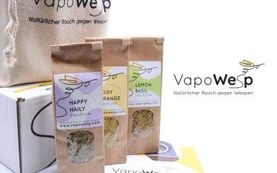Gesamtpaket für das Start-Up VapoWesp