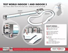Test World's indoor facility