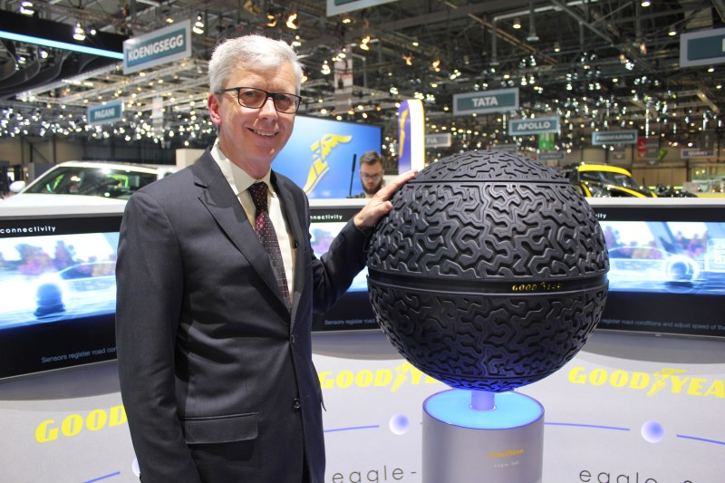 "Goodyear EMEA president Jean-Claude Kihn believes we are ""on the verge of a revolution in mobility"" and the new Eagle 360 speaks of Goodyear's readiness and willingness to operate in this context"